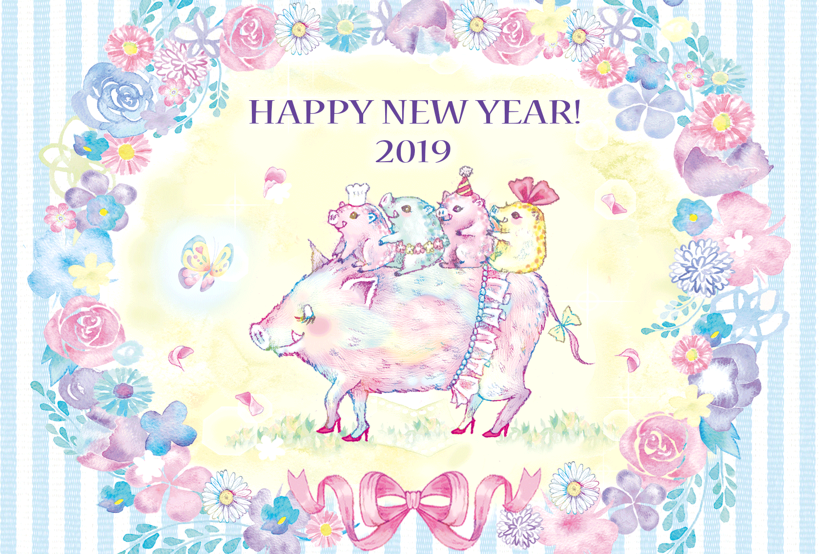 A HAPPY NEW YEAR 2019